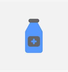 medicine flat icon isolated on white background vector image