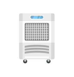 Mobile house conditioner icon flat style vector