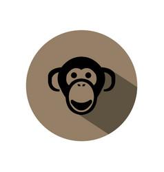 Monkey king logo vector