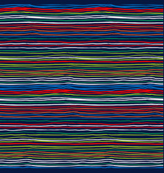 Multicolor striped pattern vector