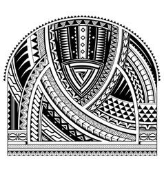 Sleeve tattoo design vector