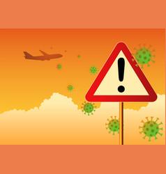 Travel warning vector