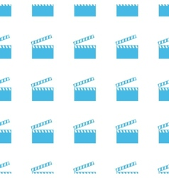 Unique Film seamless pattern vector image