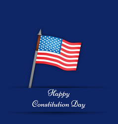 usa constitution day b vector image