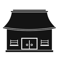 Vietnam house icon simple style vector