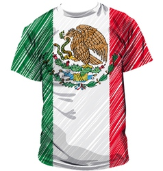 Mexican tee vector image