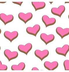Color hearts vector image vector image