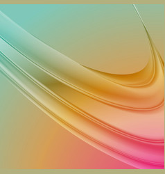 abstract background with smooth waves vector image