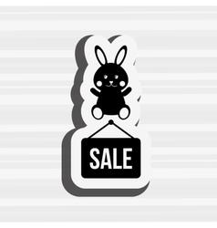 Baby store design vector