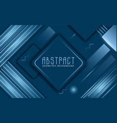 classic blue abstract background vector image
