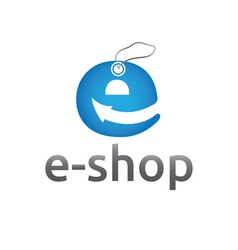 E shop design template vector