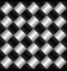 geometrical monochrome abstract ring pattern vector image