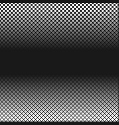 halftone geometrical dot and square pattern vector image