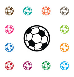Isolated game icon soccer element can be vector