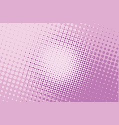 pink halftone pop art background vector image