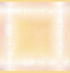 Yellow dotted background vector