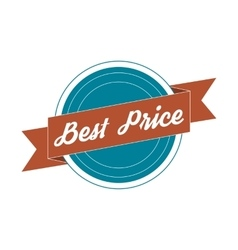 Vintage Label - best Price vector image vector image