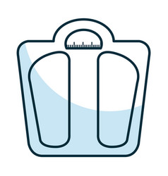 weight balance bathroom icon vector image