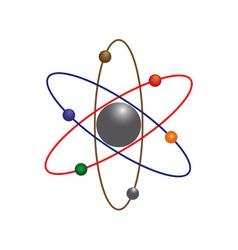 atoms vector image