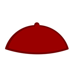 bishop hat icon vector image