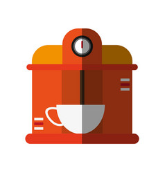 Coffe maker icon graphic vector