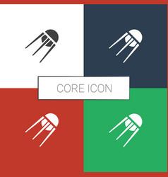 Core icon white background vector