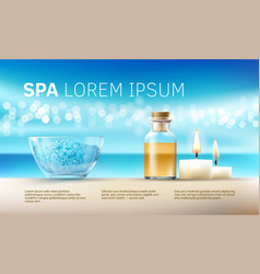For spa treatments with vector