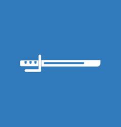 Icon military bayonet knife vector