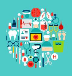 medicine circle concept vector image
