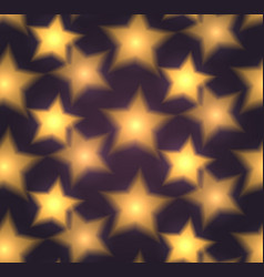 seamless texture with blurred stars vector image