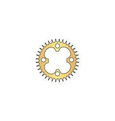Sprockets computer symbol vector image