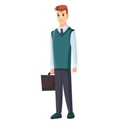 Stage development - adult man worker vector