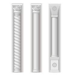 Three eastern tower vector