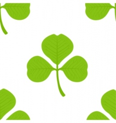 clover seamless wallpaper vector image vector image