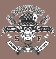 Spesial force emblem vector