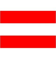 Austrian flag vector