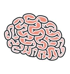 Brain storm design vector