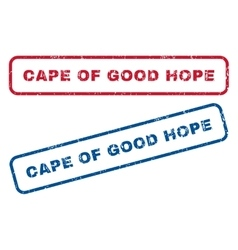 Cape Of Good Hope Rubber Stamps vector