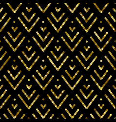 holiday golden sequin seamless pattern abstract vector image
