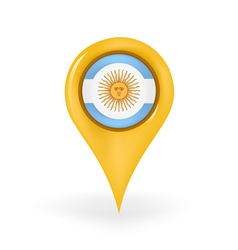Location Argentina vector