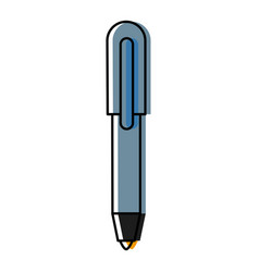 office pen isolated vector image
