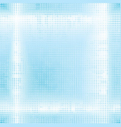 Pale blue dotted glowing background vector