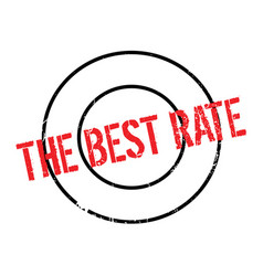 The best rate rubber stamp vector