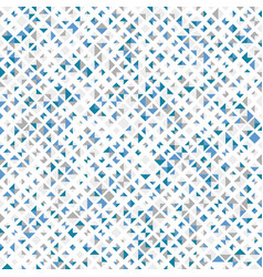 blue color seamless pattern with rhombuses vector image
