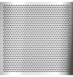 Chromium - scratched sheet metallic vector