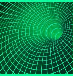 digital visualisation wormhole singularity and vector image