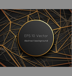 geometric low polygonal web space world abstract vector image