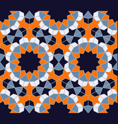 Islamic colorful geometric seamless pattern in a vector