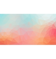 Light tial and orange shape composition background vector image