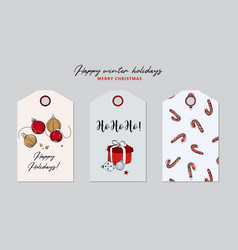 merry christmas party preparation winter holidays vector image